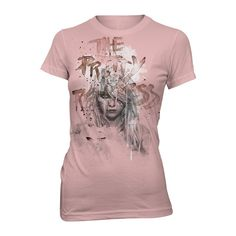The Pretty Reckless - Watercolors Mauve Girls Tee. Click on image to zoom    store.cinderblock.com