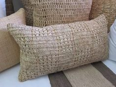 Beautiful Scatters (Great for outside patio) Outside Patio, Neutral Tones, Ideas Para, Beach House, Stitches, Lounge, African, Textiles, Scrapbook