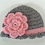 Crochet Pretty Baby Beanie