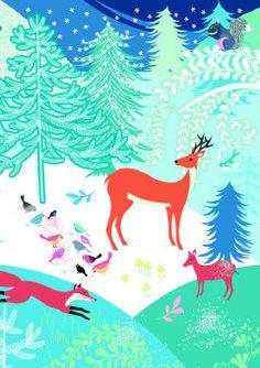 Roger la Borde | Festive Critters Christmas Card