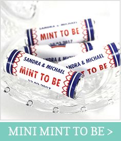 Client Gifts, Mint To Be, Wedding Bells, Special Day, Favors, Dream Wedding, Candy, Boro, Personalized Items