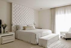 Quartos brancos e off whites maravilhosos – veja modelos e dicas de como decorar!