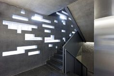 stairs + light / Tenerife Espacio de las Artes, Herzog & de Meuron by Iwan Baan