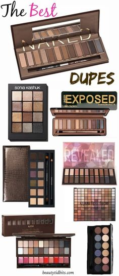 7 Affordable Dupes For Urban Decay Naked Palette Looking for a near-perfect Naked palette dupe? Check out these 7 budget-friendly dupes for Urban Decay's Naked palettes that you should try out! Beauty Dupes, Beauty Makeup, Makeup Geek, Makeup Usa, Mod Makeup, Sleek Makeup, Skin Makeup, Makeup Brushes, Make Up Dupes