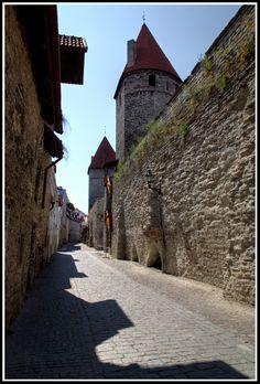 Town Wall, Tallinn_ Estonia