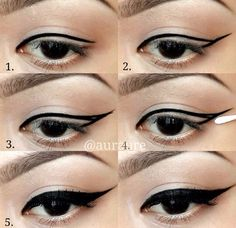 #eyeliner #cateye #makeup