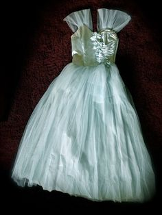 1940s Hollywood Starlet Long Formal Ball Gown Formal by JackpotJen, $185.99