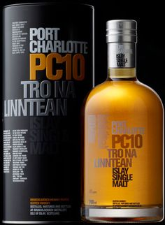 Bruichladdich Port Charlotte Islay whiskey