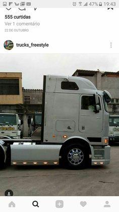 Big Rig Trucks, Semi Trucks, Cool Trucks, Volvo, Cab Over, International Harvester, Buses, Diorama, Trailers