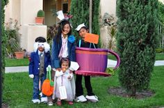 Mad Hatter Theme Halloween Costumes