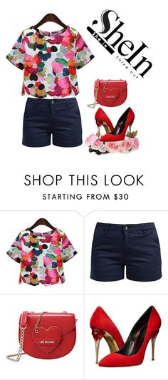 """Untitled #89"" by besirovic ❤ liked on Polyvore featuring Barbour, Love Moschino and Oscar de la Renta"
