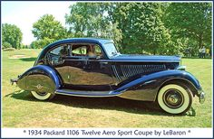 1934 Packard Aero Sport Coupe by sjb4photos, via Flickr