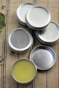 Healing Cuticle Balm - for when you've spent too much time in a machine shop and your hands are crying