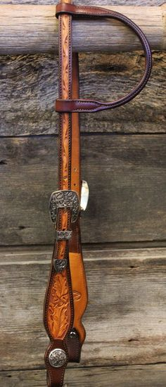 Love This : Acorn/Oak Leaf One Ear Headstall