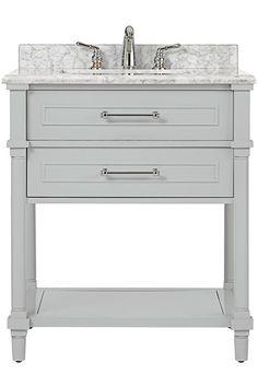 Aberdeen Open Shelf Single Vanity