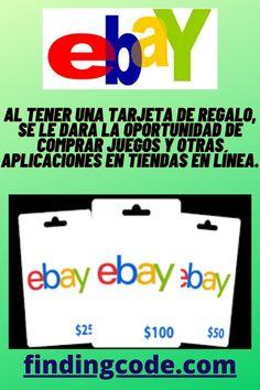 Tarjetas De Regalo De Ebay Ebay Gift Gift Card Generator Gift Card
