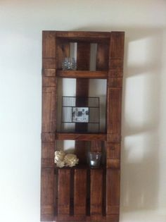 This simple shelf came from a bulk rubbish collection from a council pick up that was destined for landfill.