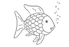 40+ Malvorlage Fisch A4 in 2020 | Fische basteln, Fisch ...