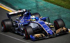 Scarica sfondi Marcus Ericsson, 4k, Formula Uno, F1, 2017 auto, Formula 1, Sauber F1 Team, C36
