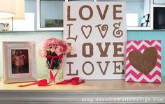 Jessica Marie Design Blog: Make your own Valentine's Day Art