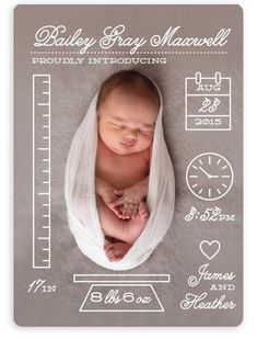 57 Trendy Ideas For Baby Born Card Ideas Birth Announcements Baby Arrival Announcement, Newborn Birth Announcements, Baby Girl Birth Announcement, Birth Announcement Pictures, Newborn Baby Photos, Newborn Baby Photography, Book Bebe, Birth Pictures, Baby Shooting