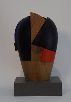 2018.Carmen Otero Wood Sculpture, Vase, Home Decor, Exhibitions, Sculpture, Events, Wood, Carving Wood, Homemade Home Decor