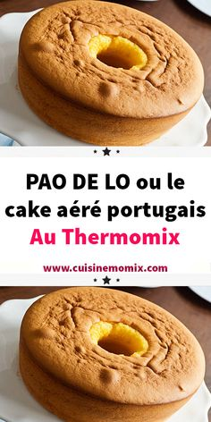 PAO DE LO or the airy Portuguese cake with Thermomix Daily Home Workout, At Home Workouts, Thermomix Desserts, Portuguese Recipes, Tupperware, Bagel, Biscuits, Doughnut, Food To Make