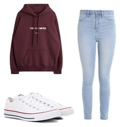 """Untitled #55"" by taukaila on Polyvore featuring Converse and Hollister Co."