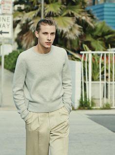 Niclas Gillis Heads to Venice Beach for GQ Style Korea image Niclas Gillis Model 004
