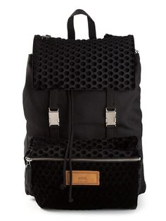 Shop Ami Alexandre Mattiussi front pocket backpack in Soulland from the world's best independent boutiques at farfetch.com. Over 1000 designers from 60 boutiques in one website.
