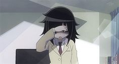 They say you can't understand the point of this anime unless you have truly been through what she has. This anime gives a satirical view on what it means to be a social outcast. I just love Tomoko...