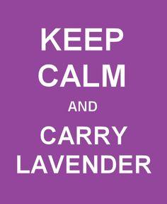 CARRY LAVENDER