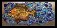 Featured artist Stephanie Failmegzer presents her portfolio of intricate Bead Mosaics.