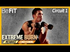 Extreme Burn- 15 Min Metabolic Conditioning Workout |Circuit 1 with Mike Donavanik - YouTube
