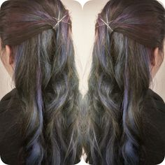 Galaxy hair from @alanas_hair