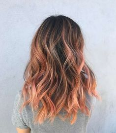 Blorange: La nueva tendencia de color de pelo [FOTOS] - Blorange natural