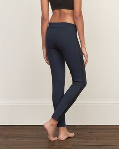 Womens A&F Side-Panel Leggings | Womens Clearance | Abercrombie.com