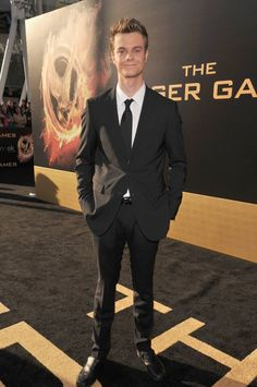 "Jack Quaid arrives at the world premiere of ""The Hunger Games"" in Los Angeles, California."