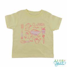 Garden/Jardin Tee || Children Vintage Eco-friendly T-Shirt – Flor Hilda Designs