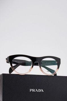 Prada optical frame.