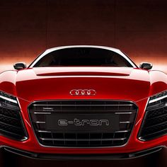 Audi E-Tron in your face