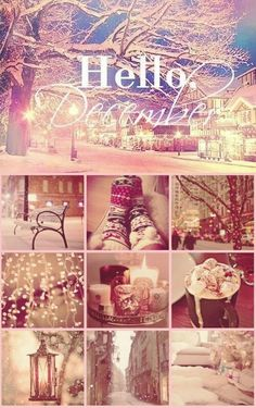 Hello December, there you are. Christmas Time Is Here, Noel Christmas, Merry Little Christmas, All Things Christmas, Christmas And New Year, Winter Christmas, Winter Snow, Winter Time, Christmas Trimmings