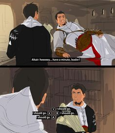 Altair and Malik... OH NO XD