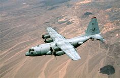 FILE PHOTO -- Compass Call is the designation for a modified version of Lockheed corporation's EC-130H Hercules aircraft configured to perform tactical command, control and communications countermeasures. Specifically, the modified aircraft uses noise jamming to prevent communication or degrade the transfer of information essential to command and control of weapon systems and other resources. It primarily supports tactical air operations but also can provide jamming support to ground force…
