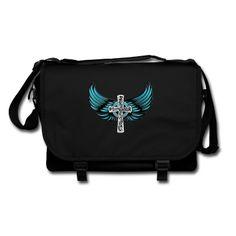 Starkes Motiv für starke Leute. Cooles modernes Design mit Kreuz und Flügeln. Bei mir findet ihr viele weitere Fashion-Motive, wie z.B. Flügel, Kreuze und Sprüche.