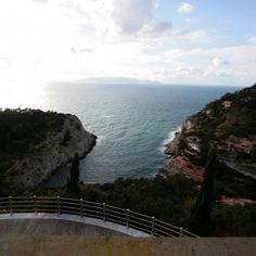 on www.preciousvillas.com - View from villa on the Tuscan Coast
