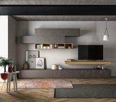 Osez l'originalité avec les meubles TV de votre spécialiste Passion Cuisines Elite. #Cuisines #Design #Meubles #TV #Salon