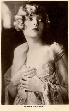 Dorothy Mackaill (1903-1990) - English-born American actress, most notably of the silent film era and into the early 1930s.