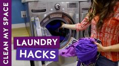 5 Laundry Hacks That Make Life Easier! Wash & Dry Laundry Hacks for Clea...