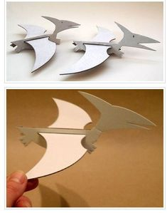 Pterodactyls made The Effective Pictures We Offer You About Dinosaur kindergarten A quality picture can tell you many things. You can find the most beautiful pictures that can be presented to you abou Dinosaur Activities, Dinosaur Crafts, Dinosaur Art, Dinosaur Funny, Kids Crafts, Diy And Crafts, Arts And Crafts, Dinosaur Birthday Party, Cardboard Crafts